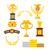 troféu · ao · ar · livre · esportes · metal · copo - foto stock © maryvalery