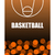 basketbalveld · bal · 3D · geïsoleerd · witte - stockfoto © maryvalery