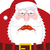 sad santa claus and belt dull christmas grandfather sorrowful stock photo © maryvalery