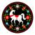 at · sallanan · örnek · siluet · çocuklar · at · oyuncak - stok fotoğraf © maryvalery