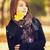 Beautiful girl at autumn park. stock photo © Massonforstock