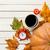 arancione · sveglia · fresche · frutta · arancione · faccia · clock - foto d'archivio © massonforstock