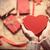 statuetka · czerwony · serca - zdjęcia stock © massonforstock
