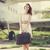 yalnız · kız · bavul · ülke · fotoğraf · eski - stok fotoğraf © massonforstock