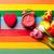 красный · тюльпаны · будильник · красивой · подарки - Сток-фото © massonforstock