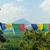 oração · bandeiras · budista · mosteiro · Índia · fundo - foto stock © massonforstock