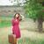 meisje · koffer · outdoor · vrouwen · mode - stockfoto © Massonforstock