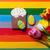 pond · cake · paaseieren · voedsel · chocolade · witte - stockfoto © massonforstock