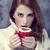 девушки · кофе · Валентин · день · красный - Сток-фото © Massonforstock
