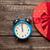 foto · cute · regalo · despertador · maravilloso · frente - foto stock © massonforstock