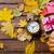 réveil · cadeau · rouge · heureux · horloge · fond - photo stock © massonforstock