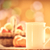 abóbora · cesta · projeto · folhas · milho · outono - foto stock © massonforstock