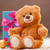 teddy bear with gift stock photo © Massonforstock