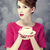 redhead girl with coffee cup st valentines day stock photo © massonforstock