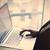 mani · digitando · testo · laptop · orizzontale - foto d'archivio © massonforstock