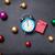 gift and alarm clock with baubles stock photo © massonforstock