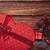 Рождества · подарки · ретро · белый · стиль - Сток-фото © Massonforstock