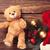 мишка · игрушку · Рождества · подарки · шарф · красный - Сток-фото © Massonforstock