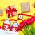 красивой · желтый · тюльпаны · Cool · корзина - Сток-фото © massonforstock