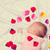 little baby with rose petals stock photo © massonforstock