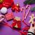 karácsony · cukorka · kezek · női · nő · fény - stock fotó © massonforstock