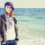 日 · ビーチ · ファッション · ライフスタイル · 美しい · 若い女性 - ストックフォト © massonforstock