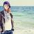leuk · dag · strand · stofbril · strandbal · hemel - stockfoto © massonforstock