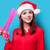 nő · vicces · olló · portré · fiatal · vörös · hajú · nő - stock fotó © Massonforstock