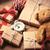 gifts teddy bear ball ribbon and clock stock photo © massonforstock