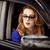 美しい · 赤毛 · 女性 · 車 · 手 · 顔 - ストックフォト © massonforstock