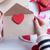 バレンタイン · 封筒 · 3次元の図 · オープン · ピース · 紙 - ストックフォト © massonforstock