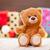 piccolo · orsacchiotto · Natale · sorriso · rosso · giocattolo - foto d'archivio © Massonforstock