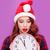 portré · fiatal · vörös · hajú · nő · nő · játék · ajándék - stock fotó © massonforstock