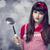 brunette · huisvrouw · soep · pollepel · mode · home - stockfoto © Massonforstock