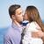 キス · 愛好家 · カップル · ビーチ · 愛 - ストックフォト © massonforstock