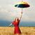 девушки · зонтик · женщины · природы - Сток-фото © massonforstock
