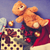 teddy bear and christmas gifts stock photo © massonforstock
