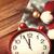 kalap · karácsony · boldog · levelek · vásár · ünneplés - stock fotó © massonforstock