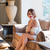 rouge · femme · élégant · chambre · visage · sexy - photo stock © massonforstock