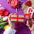 női · kezek · tart · ajándék · zöld · szív · alak - stock fotó © massonforstock
