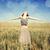 genç · arpa · yeşil · büyüyen · alan · manzara - stok fotoğraf © massonforstock