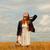 kız · bahar · Retro · kamera - stok fotoğraf © massonforstock