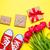 красный · тюльпаны · красивой · подарки · замечательный - Сток-фото © Massonforstock