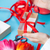 női · kezek · tart · ajándék · csomagolás · tulipán - stock fotó © Massonforstock
