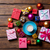Кубок · Рождества · подарки · чай · кофе · древесины - Сток-фото © massonforstock