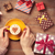 photo of female hands holding cup of coffee near gifts on the wo stock photo © massonforstock