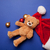 Teddy bear and Santa Claus hat  stock photo © Massonforstock