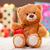 piccolo · orsacchiotto · regalo · Natale · sorriso · rosso - foto d'archivio © Massonforstock