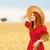 kız · bahar · fotoğraf · bokeh - stok fotoğraf © massonforstock