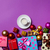 Кубок · кофе · Рождества · подарки · фиолетовый · цвета - Сток-фото © Massonforstock